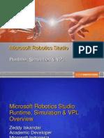 Microsoft Robotics Studio (Zeddy Iskandar)