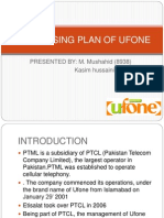 Advertising Plan of Ufone