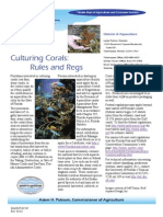 Coral Culture Fact Sheet