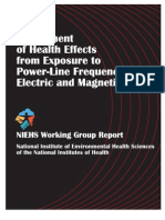 Assessment of Health Effects From Exposure to Powerline Frequency Electric and Magnetic Fields