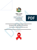 KZN HIV and AIDS STI and TB Provincial Strategic Plan