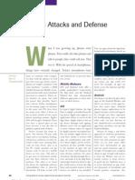 Mobile Attacks and Defense
