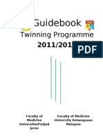Twinning - Guidebook for Ukm-unpad Medical Program 2009_ih (v.a5)-Revisi_3!12!2011+Cover