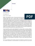 Message de La Fédération Galactique - Sheldan Nidle - 29 novembre 2011