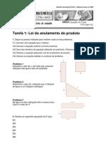 Ficha Equações 2º grau - tarefas DGIDC