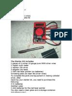 ARGINT COLOIDAL-instructiuni