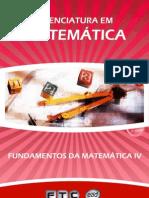 Fundamentos Matematica IV
