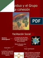 La cohesión, el individuo y el grupo