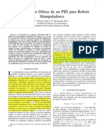 R1 F1 ROB100 Sintonizacion Difusa de Un PID Para Robots MANIPULADORES