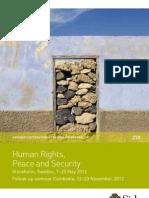 Human Rights 2012 Brochure