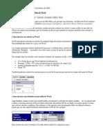 Formulas en Word y Excel