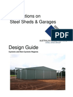 429 Wind Actions Steel Sheds 2009