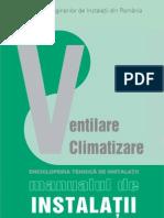 Enciclopedia Tehnica de Instalatii - Manualul de Instalatii - Editia aIIa - Instalatii de Ventilare Si Climatizare