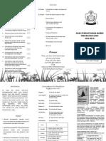 Pamflet Pendaftaran Murid Tingkatan Satu 2012