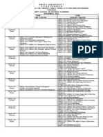 Date Sheet Mba Pg Ete Dec 2011