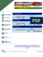 Concours d'Internat (France) QCM 1995-2003