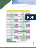Calendario Escolar Curso 2011-2012
