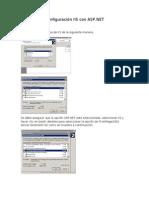 Configuración IIS con ASP