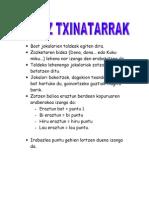 ZOTZ TXINATARRAK