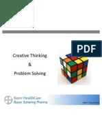 Creative Thnkg Problem Solv