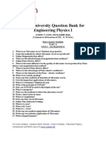 Physics q Bank