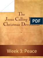Jesus Calling Bible Christmas Devotional - Week 3
