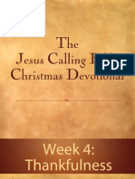 Jesus Calling Bible Christmas Devotional - Week 4