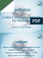 Minicurso Web e Mecanismos de Pesquisa