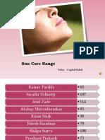 8659113 Vichy Loreal Sun Care Range Marketing Plan
