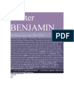 Benjamin, Walter, Infancia en Berlin