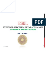 ESBL - Dynamics and Detection