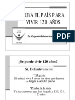 Cuba El Pais Para Vivir 120 Anos