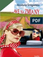 """Krystyna Śmigielska, """"Gotowe na zmiany"""", Wydawnictwo Replika 2011"""