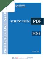 pcn schizofrenie