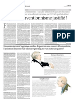 Intervention Lybie Article Le Monde