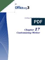 Customizing Writer