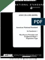 NORMA ANSI C29.2 2992