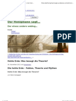 Honigmann-Hohle Erde