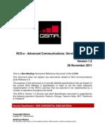 Rcs-e Advanced Comms Specification v1.2