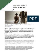 The 21st Century Slave Trade