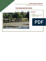 Analisis Agua 2010