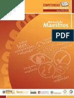 Manual de Maestros Hacia Pisa 2012