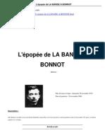 L'épopée de le Bande à Bonnot