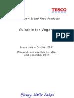 Vegan October 2011