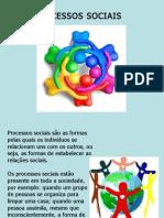 SEMINÁRIO PROCESSOS SOCIAIS