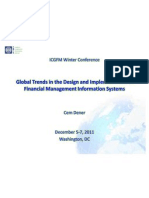 Global Trends in the Design and Implementation of Financial Management Information Systems