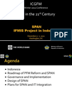 SPAN IFMIS Project in Indonesia