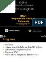 SPAN Proyecto de IFMIS en Indonesia