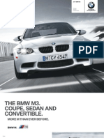 2011 M3 Coupe Convertible Sedan Brochure