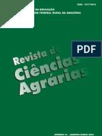 Revista de Ciencia Agraria 41